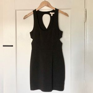 silence + noise Cut-out Little Black Dress
